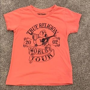 Little Girl True Religion T Shirt